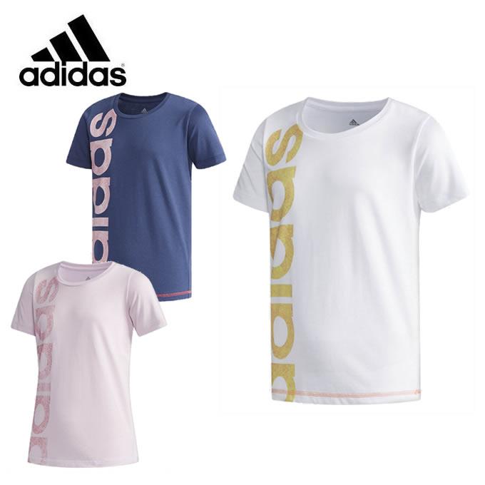 アディダス Tシャツ 半袖 ジュニア G ESS グラフィックリニアロゴ Tシャツ ETO83 adidas