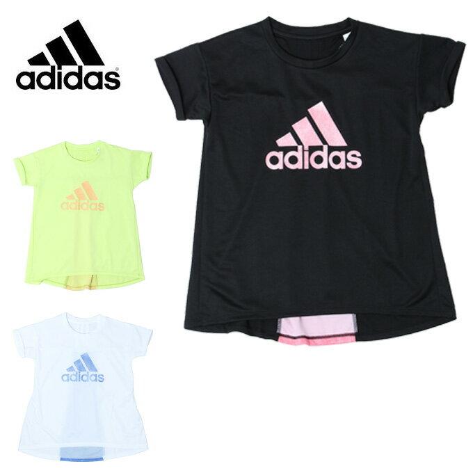 アディダス Tシャツ 半袖 ジュニア G ESS バックプリーツ Tシャツ ETO84 adidas
