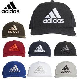 アディダス キャップ 帽子 メンズ レディース ロゴフラットキャップ EBZ97 adidas