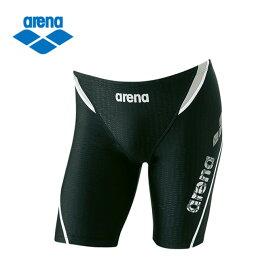 アリーナ arena フィットネス水着 メンズ ロングボックス LAR-8300-BKWT