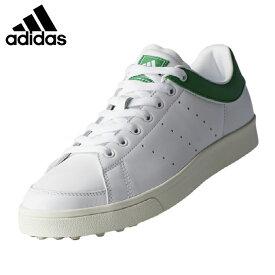 アディダス adidas ゴルフシューズ スパイクレス メンズ アディクロス クラシック ワイド F33781 WI511