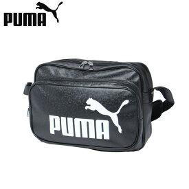 プーマ エナメルバッグ Mサイズ メンズ レディース トレーニング PUショルダー 075370-01 PUMA