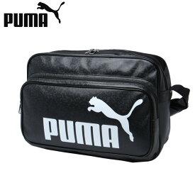 プーマ エナメルバッグ Lサイズ メンズ レディース トレーニング PUショルダー 075371-01 PUMA