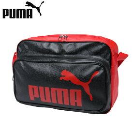 プーマ エナメルバッグ Lサイズ メンズ レディース トレーニング PUショルダー 075371-02 PUMA
