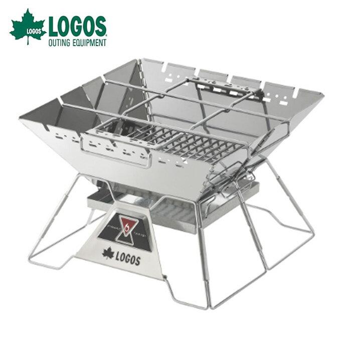 ロゴス LOGOS 焚き火台 the ピラミッドTAKIBI L ザ タキビ 81064162