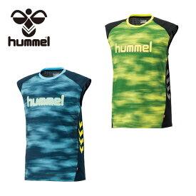 ヒュンメル ハンドボールウェア シャツ メンズ ノースリーブプラクティスシャツ HAP1136N hummel