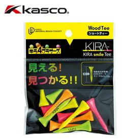 キャスコ KASCO ゴルフ ティー KIRA smileティー キラスマイルティー ショート