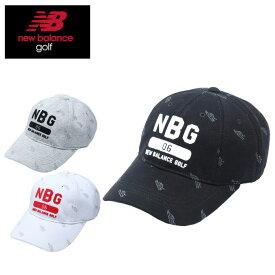 ニューバランス ゴルフ キャップ レディース シューズモノグラム 8パネル 012-8187503 new balance