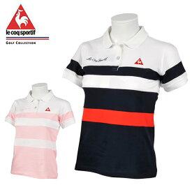 ルコック le coq sportif ゴルフウェア ポロシャツ 半袖 レディース 半袖シャツ QGWLJA10