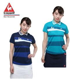 ルコック le coq sportif ゴルフウェア ポロシャツ 半袖 レディース ベインBD半袖シャツ QGWLJA16