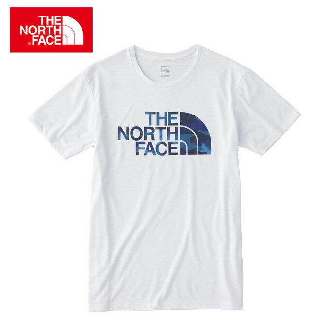 ノースフェイス Tシャツ 半袖 メンズ フェイドカモフラージュロゴティー Fade Camouflage Logo Tee NT31897 THE NORTH FACE