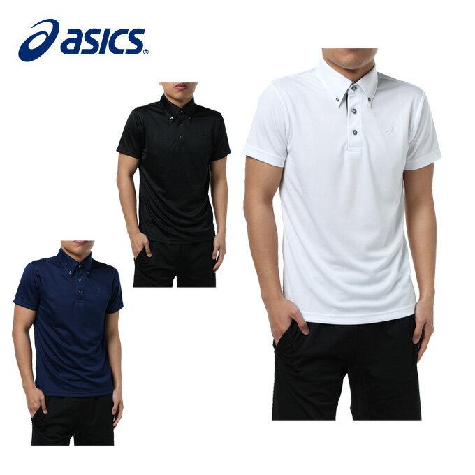 アシックス ポロシャツ 半袖 メンズ 機能BDNポロシャツ EZR921 asics