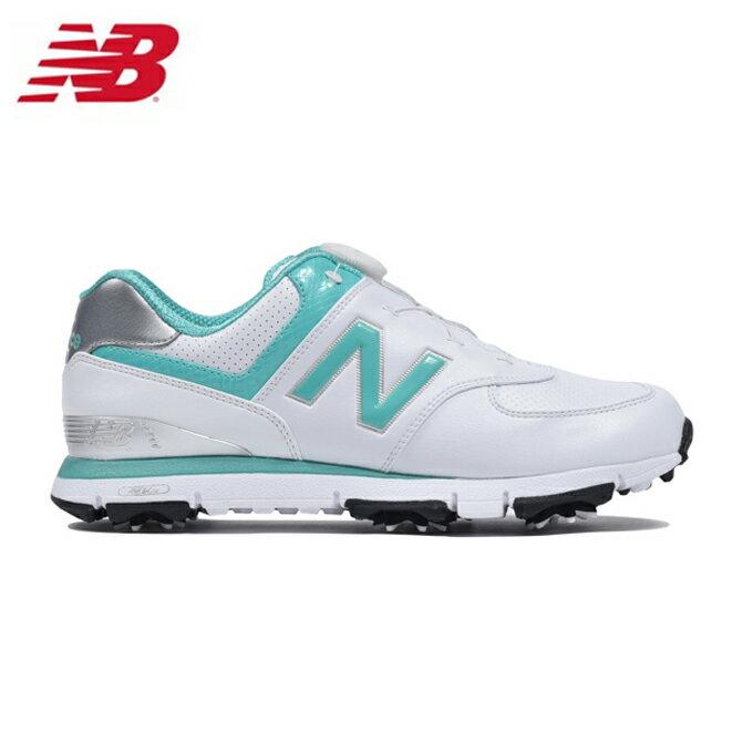 ニューバランス ゴルフシューズ ソフトスパイク レディース WGB574WA new balance