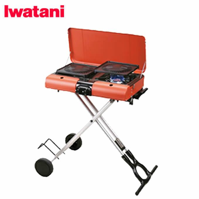 イワタニ Iwatani ツーバーナー スタンド型BBQグリル グリルスター CB-SBG-1