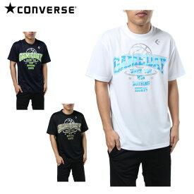 コンバース CONVERSE バスケットボールウェア 半袖シャツ メンズ プリントTシャツ CB281314