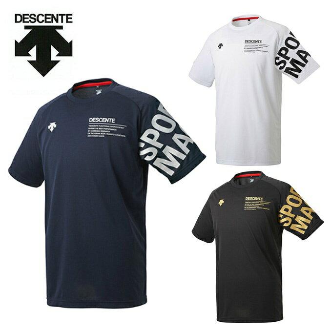 デサント DESCENTE バレーボール 半袖Tシャツ メンズ レディース 半袖プラクティスシャツ DVULJA56