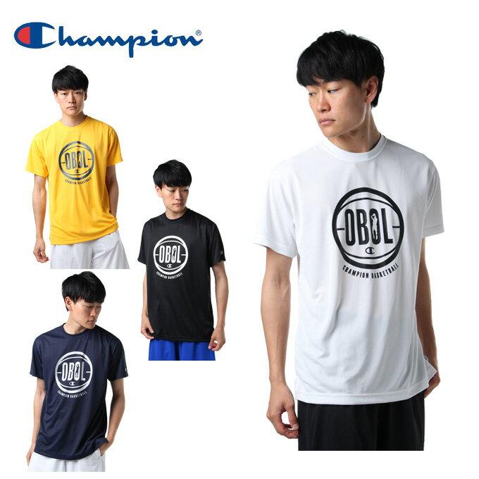 チャンピオン Champion バスケットボールウェア 半袖シャツ メンズ プラクティスTシャツ E-MOTION C3-MB323