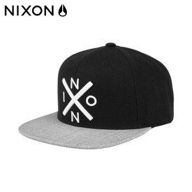 ニクソン NIXON キャップ メンズ レディース EXCHANGE SNAPBACK HAT エクスチェンジスナップバックハット C2066539