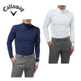キャロウェイ ゴルフ アンダーウェア 長袖 メンズ 天竺ハイネックインナーシャツ 241-7986500 Callaway