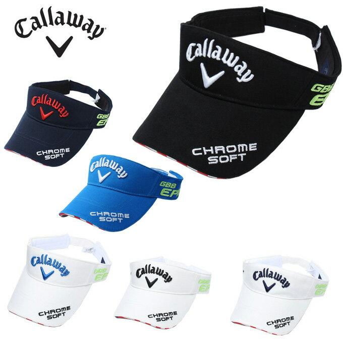 キャロウェイ ゴルフ サンバイザー メンズ ツアーモデル 247-8990600 Callaway