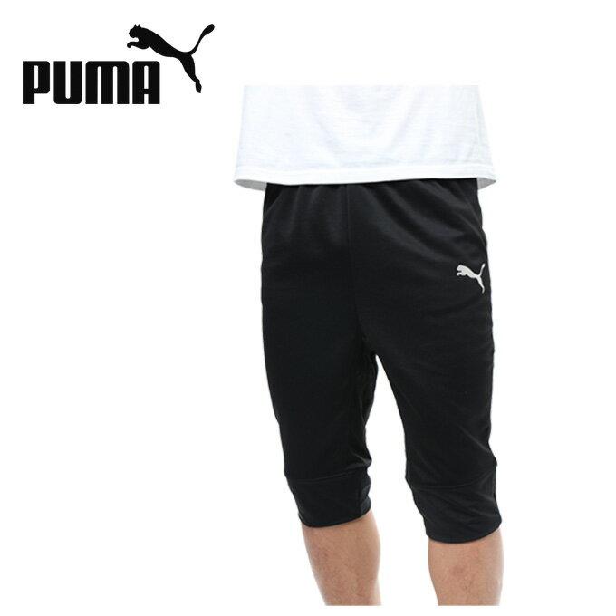 プーマ サッカーウェア ゲームパンツ メンズ FTBLNXT 3/4 パンツ 655830 01 PUMA