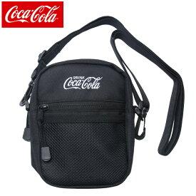 コカ コーラ COCA COLA ショルダーバッグ メンズ レディース COK-SDD01 BK