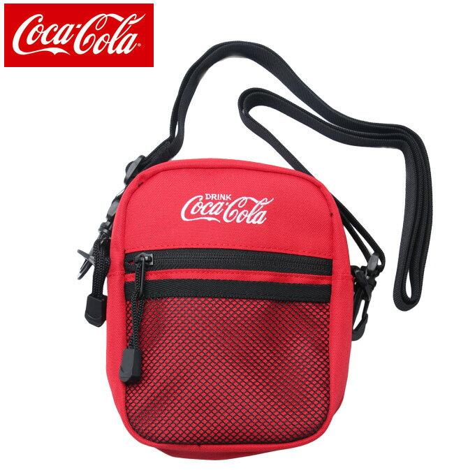 コカ コーラ COCA COLA ショルダーバッグ メンズ レディース COK-SDD01 RD