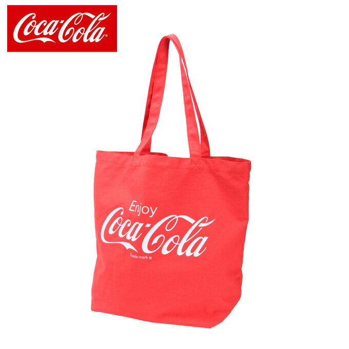 【5,000円以上でクーポン利用可 1/24 20:00〜1/28 1:59】 コカ・コーラ CocaCola トートバッグ メンズ レディース キャンバストート COK-SCV-01 RD