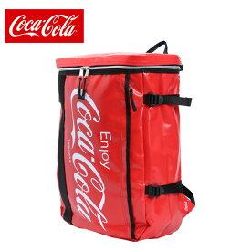 コカ コーラ COCA COLA バックパック メンズ レディース Cターポリンスクエアリュック COK-MBBK04 RD