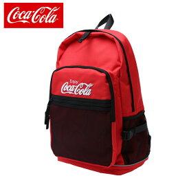 3863b3ee6df6 コカコーラ Coca-Cola バックパック メンズ レディース Cメッシュポケットリュック COK-MBBKD09 RD
