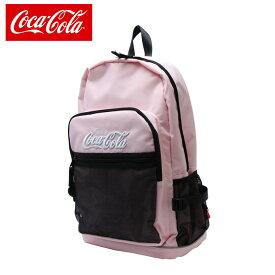 c2980b3ed32d コカコーラ Coca-Cola バックパック メンズ レディース Cメッシュポケットリュック COK-MBBKD09 PK