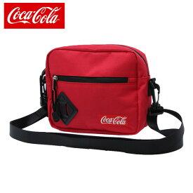 コカコーラ Coca-Cola ショルダーバッグ メンズ レディース ポリキャン COK-SDD03 RD