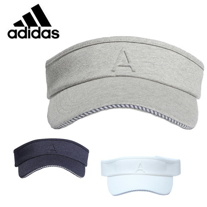 アディダス ゴルフ サンバイザー レディース adicross デボスAロゴバイザー CCR96 adidas