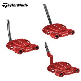 【ポイント5倍 9/24 1:59まで】 テーラーメイド TaylorMade ゴルフクラブ パター マレット型 メンズ Spider TOUR RED スパイダーツアー レッド