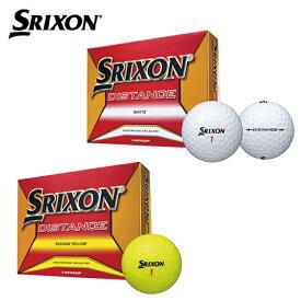 スリクソン SRIXON ゴルフボール 1ダース 12個入 ディスタンス DISTANCE 2018 DZ
