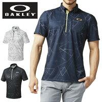 オークリーゴルフウェアポロシャツ半袖メンズBARKAERODELTASHIRTSバークエアロデルタシャツ434183JPOAKLEY