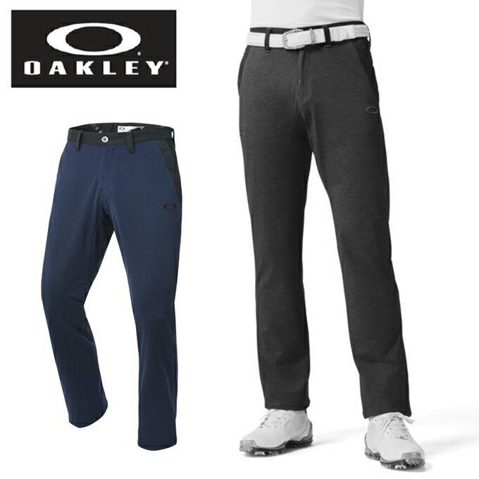 オークリー ゴルフウェア ロングパンツ メンズ ストレート パンツ BARK TECHNICAL FLEECE RELAX STRAIGHT 2.0 422412JP OAKLEY