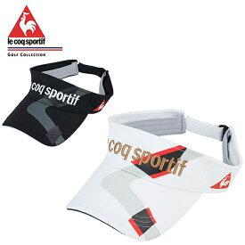 ルコック le coq sportif ゴルフ サンバイザー メンズ クーリングサンバイザー QGBLJC51
