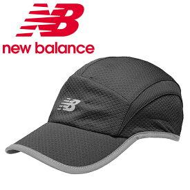 ニューバランス ランニング キャップ 5パネルパフォーマンスキャップ 500142-BK new balance