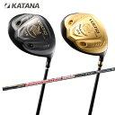 カタナ KATANA ゴルフクラブ ドライバー メンズ VOLTIO NINJA PLUS 8802Hi BLACK/GOLD ボルティオ ニンジャ プラス