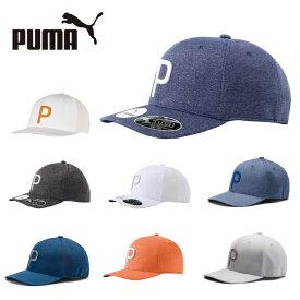 プーマ ゴルフ キャップ メンズ Pマークスナップバックキャップ 021448 PUMA