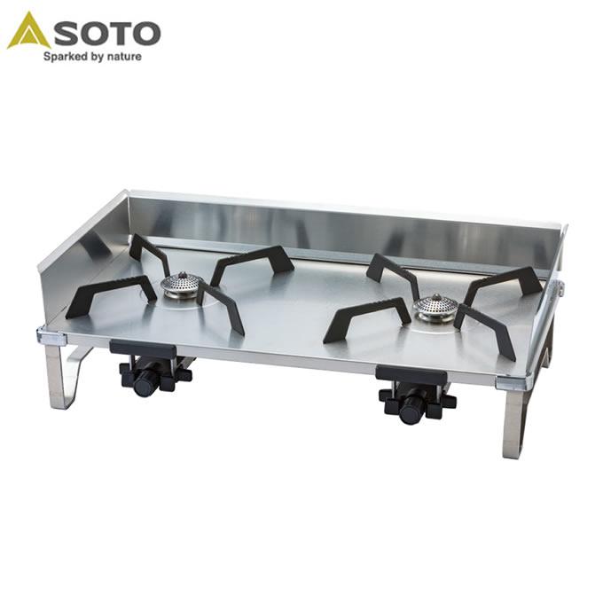 ソト SOTO ツーバーナー レギュレーター2バーナー GRID グリッド ST-526