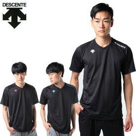 デサント バレーボールウェア 半袖シャツ メンズ 半袖ワンポイントTシャツ DOR-B8989 DESCENTE