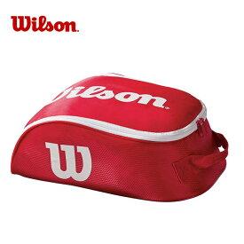 ウイルソン Wilson シューズケース メンズ レディース TOUR IV SHOE BAG RDWH ツアー シュー バッグ WRZ847887