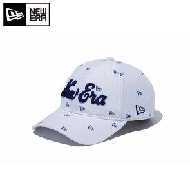 ニューエラ NEW ERA ゴルフ キャップ メンズ クロスストラップ BELLOASIS ニューエラフラッグオールオーバー × ブルー 11557130