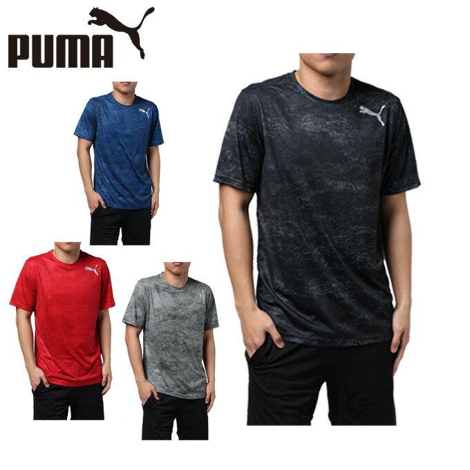プーマ スポーツウェア 半袖 メンズ グラフィック機能Tシャツ 515858 PUMA