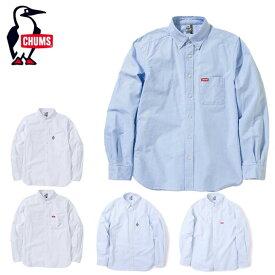 チャムス CHUMS 長袖シャツ メンズ OX Shirt オックスシャツ シャツ CH02-1074 アウトドアシャツ