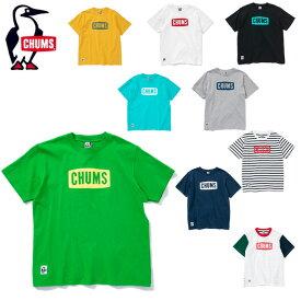 チャムス CHUMS Tシャツ 半袖 メンズ レディース Logo T-Shirt ロゴTシャツ トップス CH01-1324