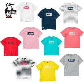 チャムス CHUMS Tシャツ 半袖 レディース ロゴTシャツ トップス Logo T-Shirt Women's CH11-1324