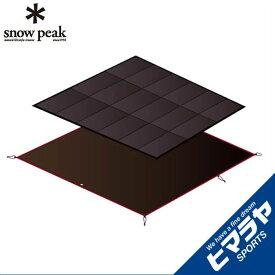 スノーピーク インナーマットグランドシートセット アメニティドームS マットシートセット SET-022H snow peak